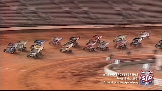 Download #ThrowbackThursday: World of Outlaws Sprint Cars Bristol Motor Speedway June 9th, 2001 Video