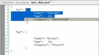Download Fetch JSON Data Using jQuery AJAX Method: getJSON Video