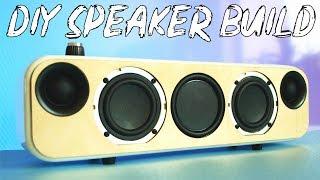 Download DIY Portable Bluetooth + WiFi Speaker Build Video
