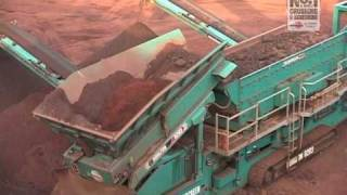 Download Powerscreen: Iron Ore Mining Application - Cone crushers, jaw crushers and mobile screens Video