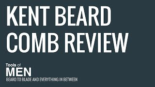 Download Kent Beard Comb Review - A Look At The Best Beard Comb Video