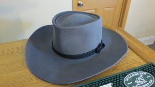 Download Restoring/Reblocking a used beaver felt cowboy hat into a Roy Rogers clone Video