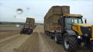 Download Loading bales and racing the Massey Video