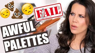 Download NOT WORTH IT PALETTES | Save your Money! Video