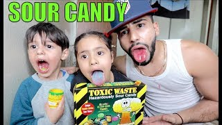 Download EXTREME SOUR CANDY CHALLENGE!!! **TOXIC WASTE** Video