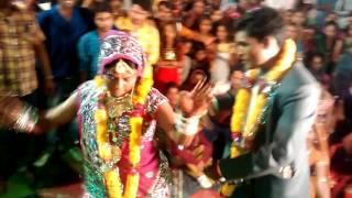 Download Peeli Lugdi    Desi Rajasthani Dance    Frank Dance By Bride&Groom    HD Video