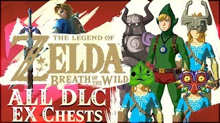 Download ALL 10 EX Chest Locations from DLC Pack 1! Majora's Mask, Tingle, Phantom, Midna, & More! Video