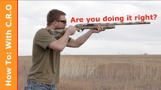 Download Tips to Improve Your Shotgun Accuracy: How to with C.R.O. Video