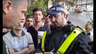 Download Politia din Londra apare la protestul anti-PSD. Jandarmeria Română să ia lecții Video