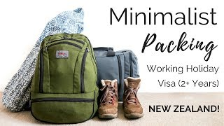 Download What i'm packing for 2+ years away | Pack with me, Aeronaut 45 | New Zealand WHV Video