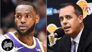 Download Lakers coach denies LeBron James has been named starting point guard | The Jump Video