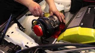 Download How to turbo BMW m50/m52 engine, part 5 - Installing the turbo parts. Video