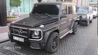 Download matte black G63 AMG V8 Biturbo Mercedes-Benz with triple exhaust Video