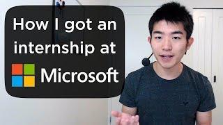 Download How I Got an Internship at Microsoft Video