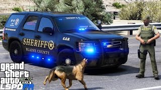 LSPDFR #538 BCSO PATROL!! (GTA 5 REAL LIFE POLICE PC MOD