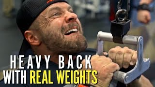 Download REAL WEIGHTS - Back Training with Doug Miller at EPIC EVENT! Video