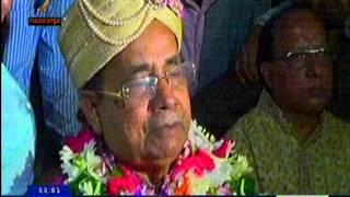 Download Rail Minister Mojibul Haqs Marriage cerimony Report Jahangir Alam Imrul Maasranga TV Comilla 31 10 Video