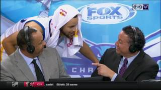Download Stephen Curry surprises his Dad on Hornets LIVE set - shooters gotta shoot Video