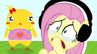 Download Fluttershy plays Can Your Pet? 🍉 | Heartbreaking ;; Video