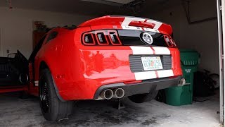 Download The New Exhaust for the Shelby GT500! LTH Quad-Tip Axle-Backs Video