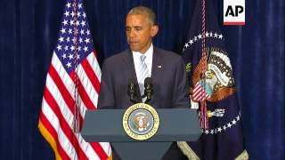 Download US president comments on US shootings Video