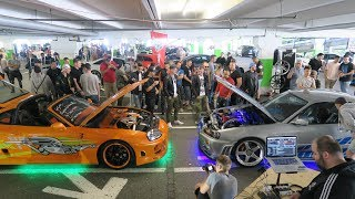 Download FAST&FURIOUS Supra & Skyline Shut Down The CarMeet!! Video