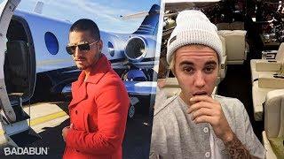Download 9 Famosos que tienen su propio avión privado Video