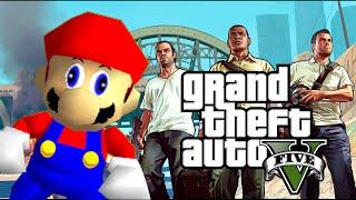 Download Grand Theft Mario - If Mario was in...GTA V Video