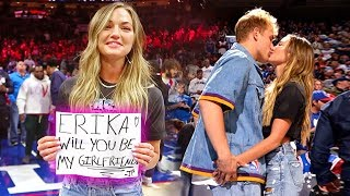 Download I FINALLY ASKED ERIKA TO BE MY GIRLFRIEND ON CAMERA!! Video