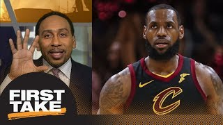 Download Stephen A. Smith on LeBron James: Can't forget his record of losing NBA Finals | First Take | ESPN Video