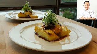 Download Miso-Marinated Sea Bass with Shiitake Soy Glaze Sauce - How To Series Video