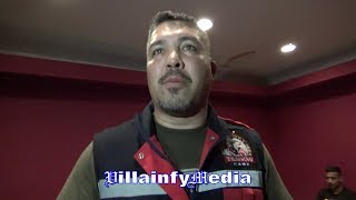 Download JOEL DIAZ BRO ANTONIO REVEALS WHAT LUCAS MATTHYSSE TOLD THEM BEFORE MANNY PACQUIAO Video