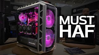 Download THE HAF IS BACK! Cooler Master's H500P & Cosmos C700P Cases Video