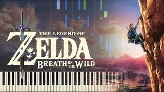 Download The Legend of Zelda: Breath of the Wild - Trailer Music - Piano (Synthesia) Video