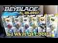 Download Beyblade Burst Hasbro QR Codes 3rd Wave Part 1 for Beyblade Burst Hasbro App Feb 25th Video