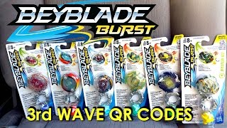 Download Beyblade Burst Hasbro QR Codes 3rd Wave Part 1 for Beyblade Burst Hasbro App Feb 25th Video