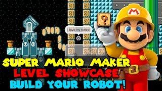 Download Build Your Robot! - Super Mario Maker Level Showcase Video
