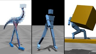 Download Flexible Muscle-Based Locomotion for Bipedal Creatures Video