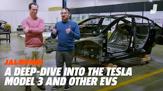 Download A Look Inside The Tesla Model 3, Chevy Bolt, and BMW i3 Video