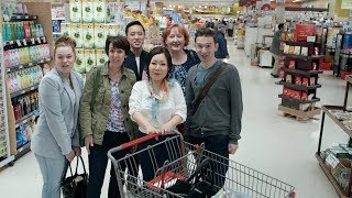 Download Korean Grocery Shopping: The frozen section, dried & fermented seafood, & kitchenware Video