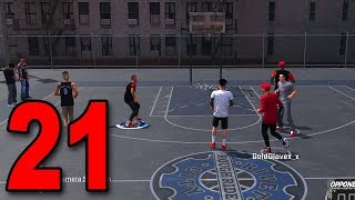 Download NBA 2K18 My Player Career - Part 21 - First Game at The Park! Video