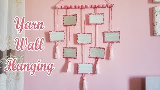 Download diy yarn wall hanging / photo wall hanging Video