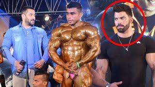 Download Salman Khan & Sergi Constance At Bodybuidling Competetion Video