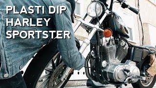 Download HARLEY PLASTI DIP: Easier than you think!! Video
