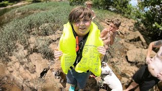 Download Saving the Lives of 3 children, 2 dogs and a Father at the River! (Police Called) Video