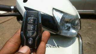 Download How to install anti-theft security alarm for all motorcycle's and scooters   Honda activa 3g Video