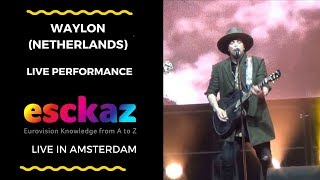 Download ESCKAZ in Amsterdam: Waylon (The Netherlands) - Outlaw In 'Em and all artists on stage Video