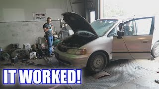 Download Nitrous Minivan on the Dyno! Video