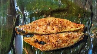 Download Steamed fish in banana leaf - South Indian style Video