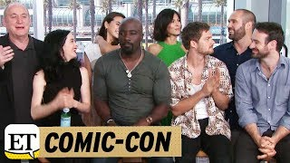 Download Comic Con 2017: Live With The Cast Of Marvel's 'The Defenders' On Netflix Video